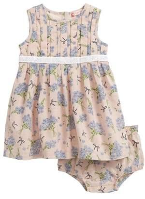 Ruby & Bloom Dobby Pleat Front Dress