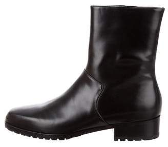 Carritz Leather Ankle Boots
