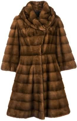 Liska Charlize long fur coat