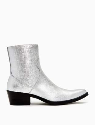 Calvin Klein alden tumbled leather boot