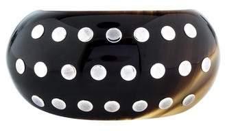 Hermes Studded Horn Cuff