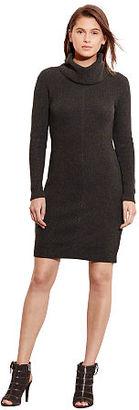 Ralph Lauren Chevron-Knit Sweater Dress $144 thestylecure.com