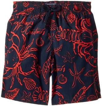 Vilebrequin Kids Shellfish Swim Trunk Boy's Swimwear