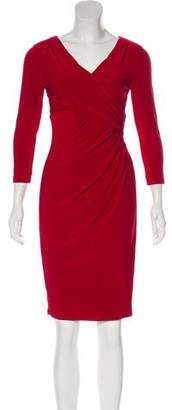 Lauren Ralph Lauren Long Sleeve Knee-Length Dress
