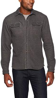 Tailor Vintage Men's Long Sleeve Sherpa Lined Fleece Shirt