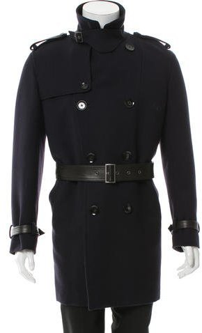 Valentino Valentino Double-Breasted Knee-Length Coat