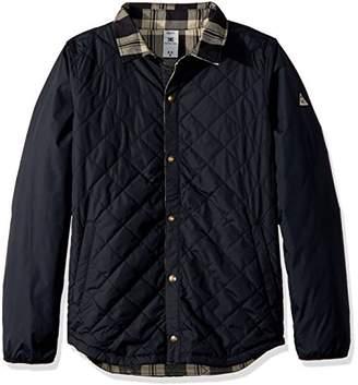 DC Men's Network Water Resistant Reversible Flannel Shirt Jacket