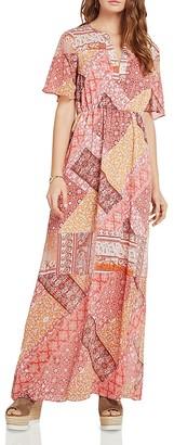 BCBGeneration Patchwork Print Maxi Dress $108 thestylecure.com