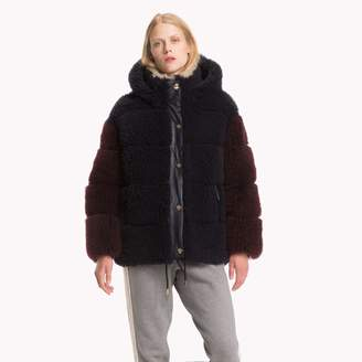Tommy Hilfiger Iconic Leather Puffer Jacket