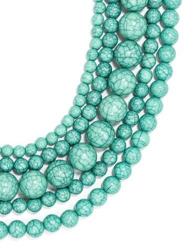 Women's Baublebar 'Globe' Multistrand Beaded Necklace 5