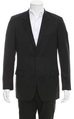 Calvin Klein Collection Wool Two-Button Blazer