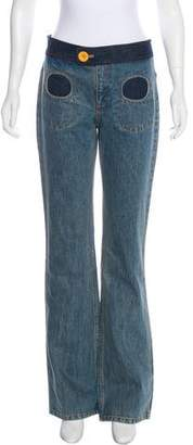 Marc by Marc Jacobs Mid-Rise Wide-Leg Jeans