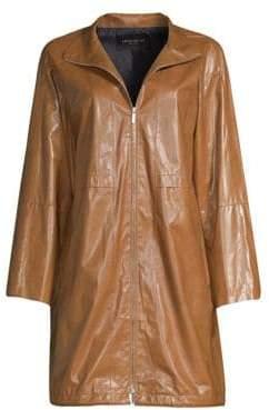 Lafayette 148 New York Minerva Leather Jacket