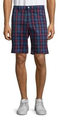 Callaway Zipped Plaid Shorts