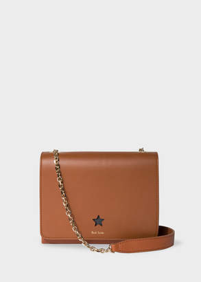 Paul Smith Women's Tan 'Star' Cutout Leather Shoulder Bag