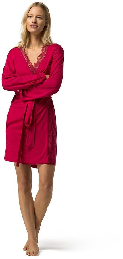 Tommy HilfigerModal Lace Robe