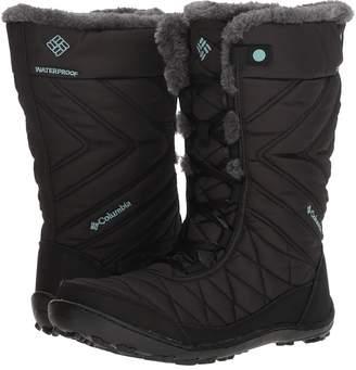 Columbia Kids Minxtm Mid III Waterproof Omni-Heattm Girls Shoes