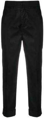 L'Autre Chose slim cropped trousers