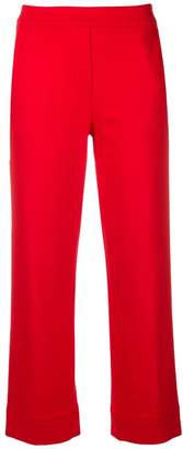 Blumarine cropped straight leg trousers
