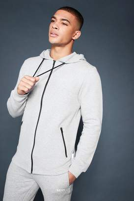 boohoo Active Zip Through Fleece Hoodie