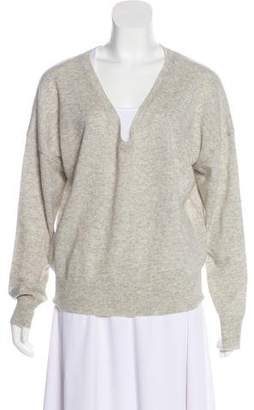 Nili Lotan Cashmere V-Neck Sweater