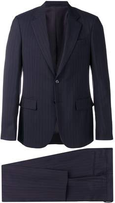 Versace pinstriped two-piece suit