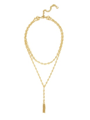 Abbie Y-Choker Necklace $36 thestylecure.com