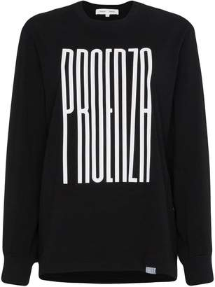 Proenza Schouler PSWL Graphic Long Sleeve T-Shirt