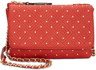 INC International Concepts I.n.c. Quiin Double Gusset Crossbody, Created for Macy's