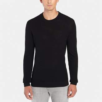 ATM Anthony Thomas Melillo Felt Patch Crew Sweater