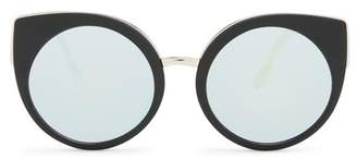 Quay Last Dance 60mm Cat Eye Sunglasses