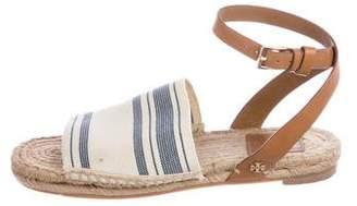 Tory Burch Woven Espadrille Sandals