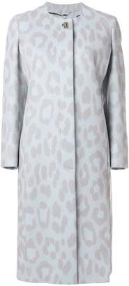 Salvatore Ferragamo leopard print coat