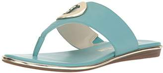 Anne Klein Women's Gia Leather Flip-Flop