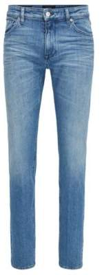 BOSS Hugo Cotton Jean, Regular Fit Maine 34/36 Turquoise