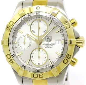 Tag Heuer Aquaracer CAF2120 Gold Plated / Stainless Steel Automatic 42mm Mens Watch