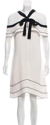 Proenza Schouler Off-The-Shoulder Midi Dress w/ Tags