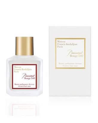 Francis Kurkdjian Baccarat Rouge 540 Scented Hair Mist, 2.4 oz./ 70 mL