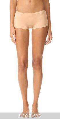 Calvin Klein Underwear Pure Seamless Boy Shorts $13 thestylecure.com