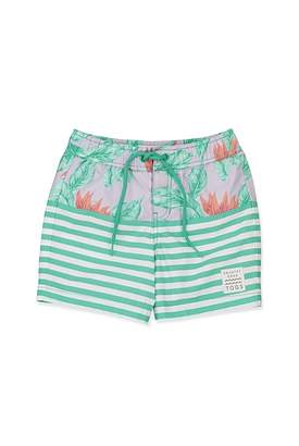 Country Road Spliced Tropical Board Short