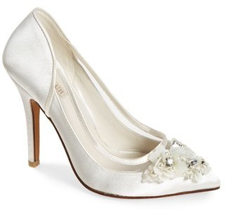 Women's Menbur 'Adriana' Crystal Embellished Illusion Pump $197.95 thestylecure.com