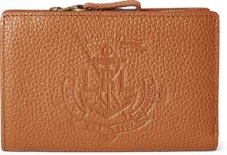 Ralph Lauren Anchor Leather Wallet