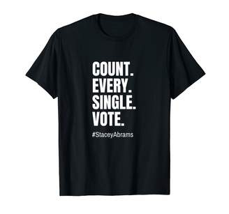 Abrams Count Every Single Vote Stacey T-Shirt