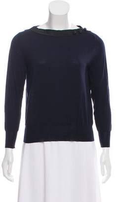 Marc Jacobs Embellished Bateau Sweater