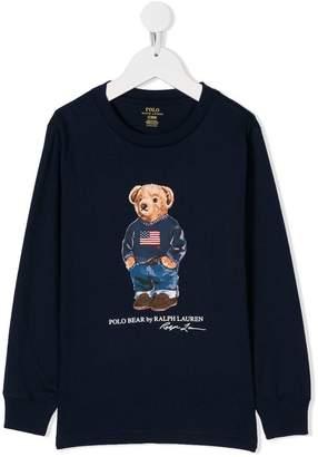 Ralph Lauren bear print sweatshirt
