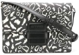 Etro contrast shoulder bag