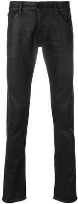 Just Cavalli wax effect jeans