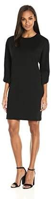 Joan Vass Women's Cotton Interlock Dress