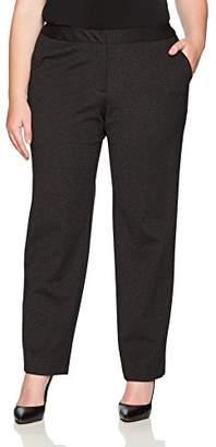 Calvin Klein Women's Size Plus Ponte Pant