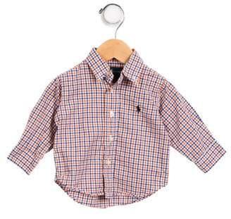 Ralph Lauren Boys' Gingham Button- Up Shirt